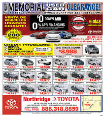 toyota specials used car specials pre owned toyota specials near van nuys ca