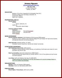 Building A Professional Resume How To Make A Resume For A Job Best Business Template