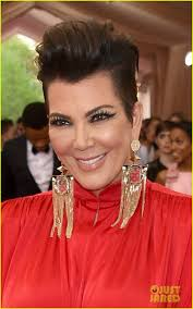 kris jenner hair 2015 kris jenner is a lady in red at met gala 2015 photo 3362597
