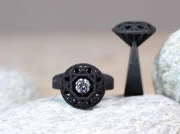 pave mens ring diamond and ruby 3d printable 27 black diamond ring designs trends models design trends