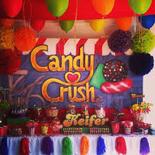 Birthday Candy Buffet Ideas by Candy Crush Birthday Party Ideas Candy Crush Party Crushes And