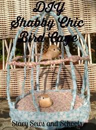 Shabby Chic Bird Cages by Stacy Sews And Schools Diy Shabby Chic Bird Cage