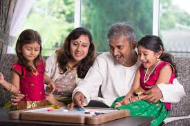 pleasant family leisure at home may satisfy families more than