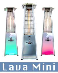 lava heat patio heaters lhi143 145 lava mini led style table top heaters outdoor flame