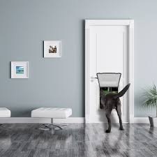 Cat Door For Interior Door Amazon Com Large Breed Locking Pet Door 14 5