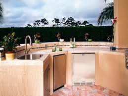 Outdoor Kitchen Sink Faucet A Place For Your Outdoor Kitchen Hgtv