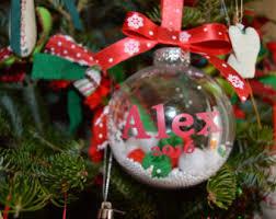 personalized balls ornaments rainforest islands ferry