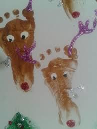 christmas handprint art glitz and glue
