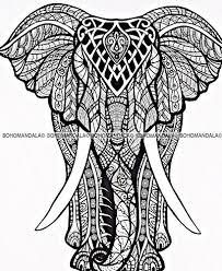 big elephant queen size indian mandala doona duvet cover quilt