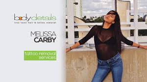 my 1st laser tattoo removal treatment melissa carby body