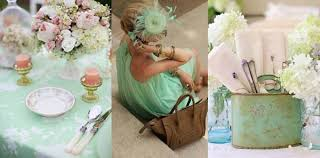 mint wedding decorations wedding decoration trends 2013 go green concept elasdress