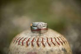 baseball wedding ring baseball wedding rings