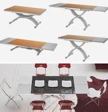 Adjustable Coffee Dining Table Coffee Dining Table Conversion Transforming Tables Convert Coffee