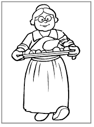 grandma thanksgiving coloring pages u0026 coloring book