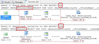 sql server compare tables memory optimized table variables in sql server 2014 and 2016 sql