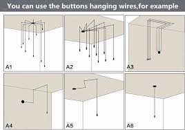 Hook For Ceiling Light by Wire Hook For Pendant Lamp Diy Metal Parts Of The Ceiling On The