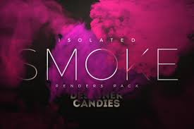 transparent smoke renders isolated png format designercandies