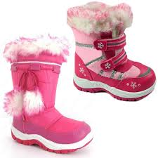 boots uk waterproof childrens waterproof sole winter moon ski fur