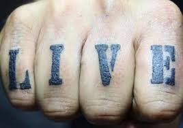 40 fingers tattoos for mens