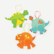 paper plate dinosaurs craft kit orientaltrading com birthday