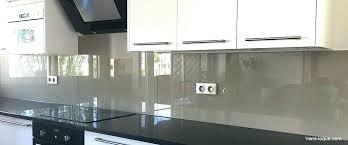 credence cuisine autocollante credence de cuisine en verre e miroiterie credence en verre pour