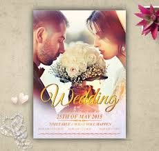 wedding poster template 32 wedding invitation templates free psd vector ai eps format