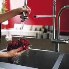 Kitchen Faucets Nyc Vigo Industries Vg02006st Single Lever Spiral Spring Faucet With