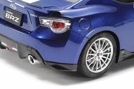 custom blue subaru amazon com subaru brz street custom model kit toys u0026 games