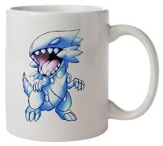 blue eyes white dragon yugioh kitchenware