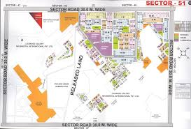 Gurgaon India Map gurgaon huda sector maps for sectors 27 56 u0026 also palam vihar