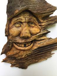 black friday sale wood spirit carving wood carving collectible