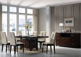 grey modern dining room sets