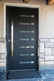 Exterior Door With Frame Viena Modern Exterior Door Complete With Door Frame And Handles