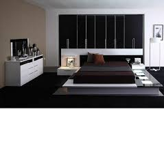 Contemporary Platform Bed Frame Dreamfurniture Impera Modern Contemporary Lacquer Platform Bed