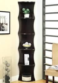 Corner Bookcase Cherry Artistic Black Corner Bookcase Cabinet Medium Size Of Ladder On
