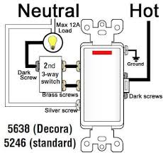cooper light switch wiring diagram single pole decorator wall switch