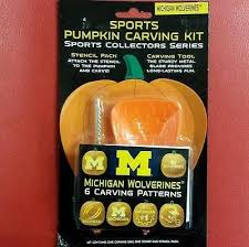Pumpkin Carving Kits Ncaa Michigan Wolverines Pumpkin Carving Kit