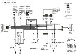 1984 honda trx 200 wiring diagram wiring diagram