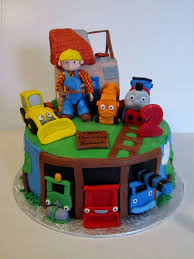cakes or something like that bob the builder and thomas the