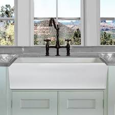 kitchen sink base cabinet 36 inch highpoint collection 36 inch reversible italian fireclay farmhouse sink