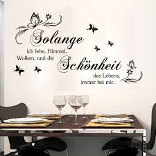Wall Decals For Living Room Aliexpress Com Buy Art German Quote Wall Stickers Diy Home
