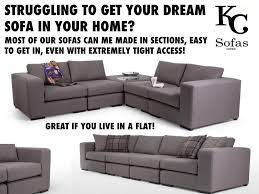 Simple Corner Sofa Designs Sectional Sofas The Easy Way To Fit A Large Sofa Into Your Home