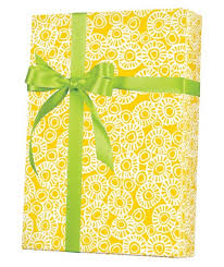 yellow wrapping paper marigold gift wrap innisbrook wrapping paper