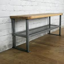 rustic industrial shoe bench made to order shoe bench rustic