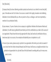 9 sample award thank you letter free sample example format