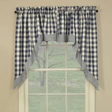 Blue Swag Curtains Country Swag Curtains York Country Blue Swags 72 X 36