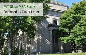 mit sloan mba essay replaced by cover letter prepadviser com