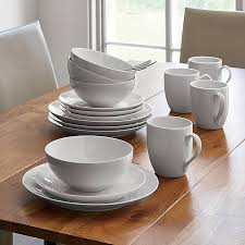 white plates a must for any dinner table