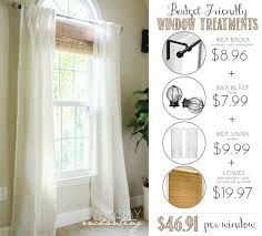 Kitchen Window Covering Ideas 25 Best Farmhouse Window Treatments Ideas On Pinterest Window