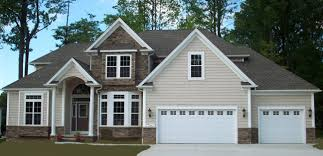 Four Car Garage by Riverdale Ii Colonial Design Little Mountain Homes